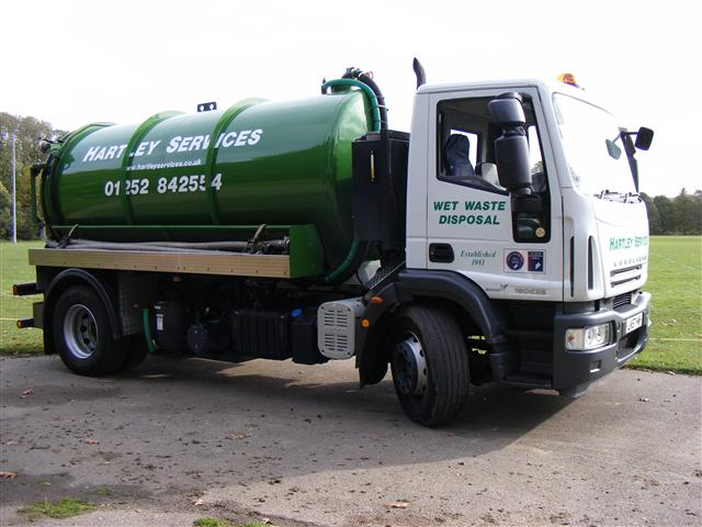 Septic tank cesspit emptying